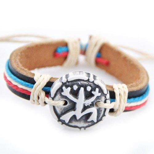 Stylish Coqui Hemp Leather Handmade Bracelet Wristband Cuff Cool Special