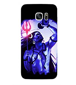 Kingcase Printed Back Case Cover For Samsung Galaxy S7 - Multicolor