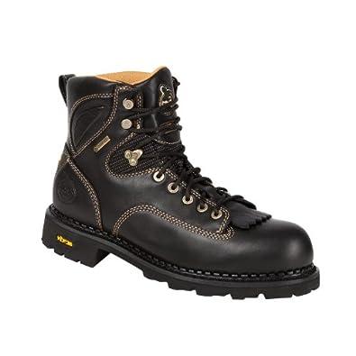 """Georgia Men's 6"""" GORE-TEX®Composite Toe Comfort Core Low Heel Logger-G038 (M8.5)"""