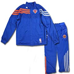 Jerome Jordan Uniform - NY Knicks Game Worn #44 Uniform (Orange Long Sleeve Shirt... by Steiner Sports