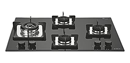MFC-4B-70 SWIRL NCI 4 Burner Built In Hob Gas Cooktop