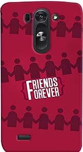 PrintVisa Friends Case Cover for LG G3 Beat 722K