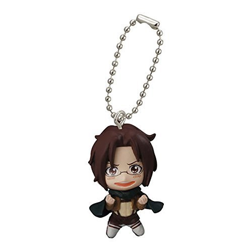 Bandai Attack On Titan Figure Swing Keychain Part 2~Hange Zoe