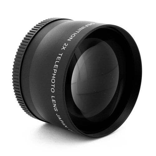 Pro 52Mm 2.0X Tele Telephoto Converter Lens For Dslr Digital Camera 2X 52