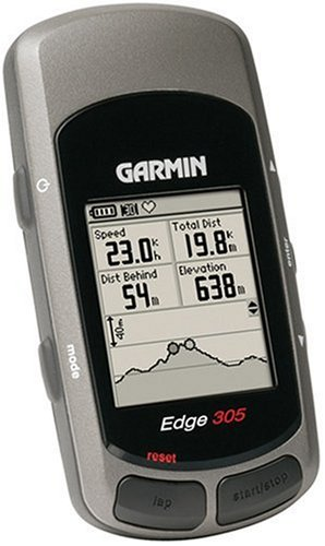 Garmin Edge 305 Waterproof Cycling GPS With Heart Rate Monitor