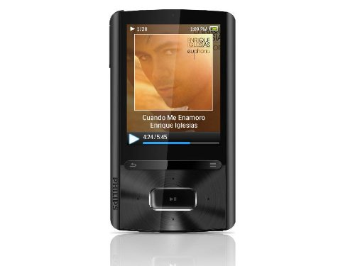 Philips SA3ARA16K GoGear 16 GB MP3 Player with 2.4-Inch Display