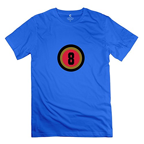 Tasy 100% Cotton Men'S 08 3 T-Shirt - Xxl Royalblue