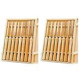PSI Woodworking LCHSS8 Wood Lathe HSS Chisel Set, 8Piece (2)