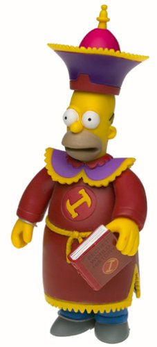 Simpsons Series 10 > Stonecutter Homer Action Figure - 1