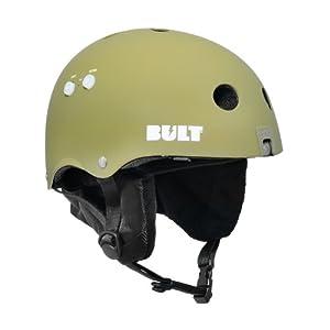 BULT Benny X3 Snow Helmet, Army Green Matte, Small Medium by Bult