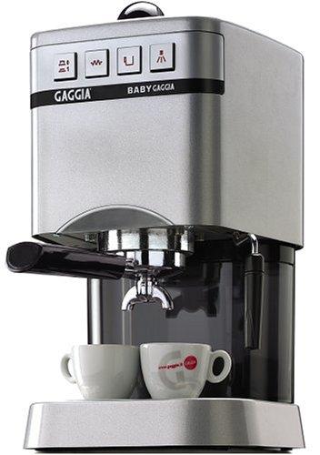 Gaggia 11202 Baby Espresso Machine, Silver