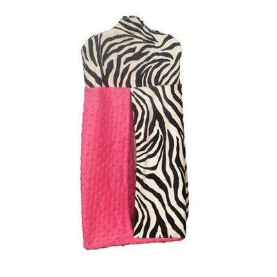 Zebra Hot Pink Bedding front-181321