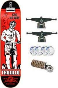 Anti-Hero Skateboard: Trujillo Streetcleaning - 8.18 w/Mini Logos