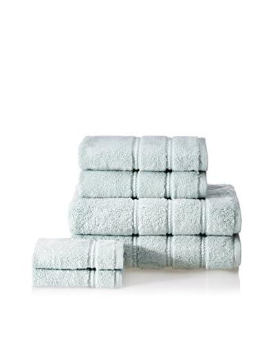 Cobra Trading 6-Piece Casa Terry Towel Set, Surf