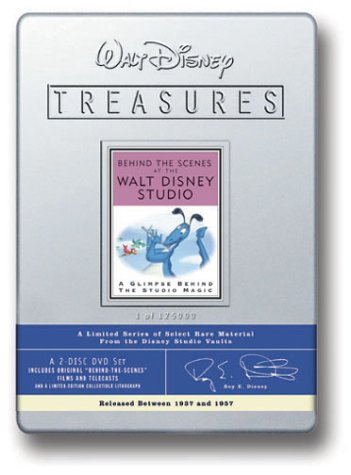 Behind Scenes Walt Disney Studio [DVD] [Region 1] [US Import] [NTSC]