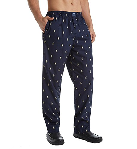 polo-ralph-lauren-woven-polo-player-lounge-pants-m-navy-ivory-pony