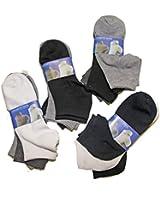 Lot de 12 paires chaussettes Socquettes uni homme garçon Pierre-cedric