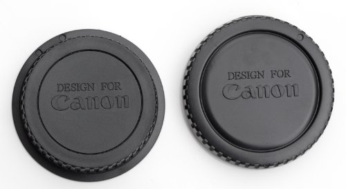CANON EOS body cap and Rear Lens Cap 1D 5D 7D