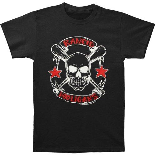 Rancid Men'S Hooligans T-Shirt Large Black