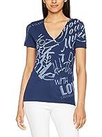 Trussardi Jeans Camiseta Manga Corta (Azul Marino)