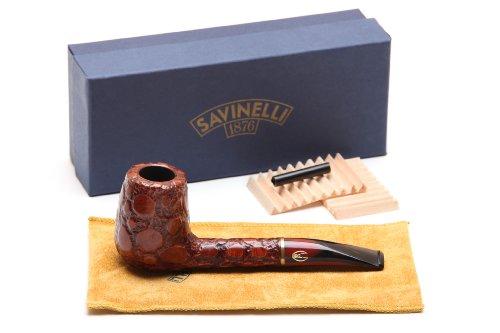 Savinelli Alligator Brown 707 Tobacco Pipe