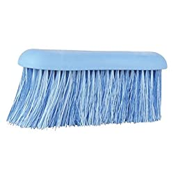 Roma Soft Grip Long Bristle Dandy Brush Blue - Blue