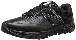 New Balance Men\'s MU950V2 Umpire Low Shoe, Black/Black, 13 4E US