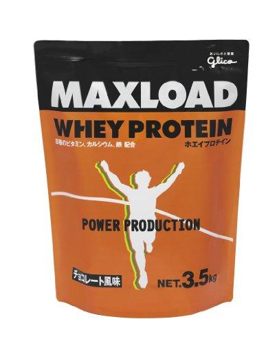 グリコ マックスロード ホエイプロテイン チョコレート風味 3.5kg MAXLOAD プロテイン 瞬発力