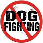 【アニマルズインク】 円型マグネット『闘犬はやめよう!』Dog Fighting (Anti)(CM-34)