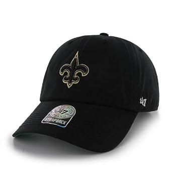 NFL New Orleans Saints Mens Bergen Cap, One Size, Black by