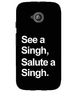 Astrode Printed Designer Back Case Cover For Motorola Moto E2 2nd Gen