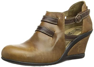 Fly London Womens Judd Fashion Sandals P143002000 Camel/Dark Brown 3 UK, 36 EU