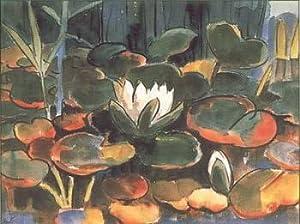 Waterlilies, Art Poster by Karl Schmidt-Rottluff
