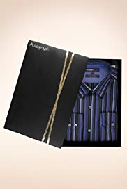 Autograph Pure Cotton Multi-Striped Shirt [T11-0807B-S]