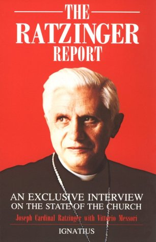 Cover of &quot;Ratzinger Report: An Exclusive ...