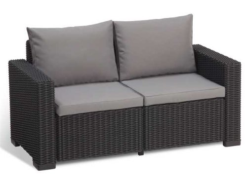 Allibert Lounge Sofa California, Grau