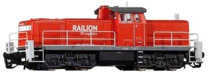 Piko-47261-TT-Diesellok-BR-294-Railion-Logistics-Epoche-VI