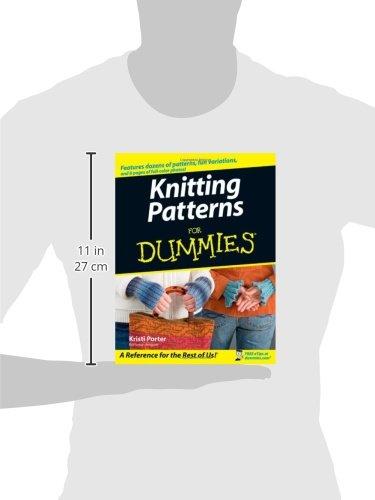 Knitting Patterns For Dummies : Libro knitting patterns for dummies di kristi porter