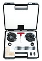 Hot Sale Freud RS2000 Insert Knife Rail And Stile Shaper Cutter Set, 1-1/4 Bore