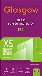 Nokia Lumia 530 <> Glasgow Real Tempered Glass Screen Protector Guard With 9H Hardness, 2.5D Curved Round Edges, 0.3mm Thickness, Anti Scratch. Anti Finger Print, Bubble Free, Water & Oil Resistant, Explosion Proof With Wet Wipes and Dry Wipes and Micro Fiber Cloth For Easy Installation.