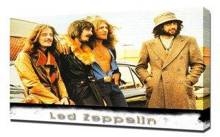 Led Zeppelin 5 - Canvas Art Print