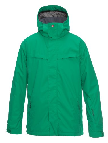 Quiksilver Last Mission Plain Men's Jacket Greenish Large