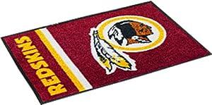 NFL Novelty Starter Mat NFL Team: Washington Redskins - Uniform Inspired, Size: 1