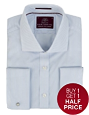 Sartorial Pure Cotton Bengal Stripe Shirt