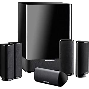 Harman Kardon HKTS 11 5.1 Home Theater Speaker System - Black Lacquer Finish