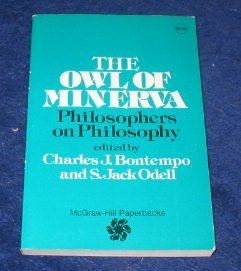 Owl of Minerva, CHARLES J. BONOTEMPO (EDITOR), S. JACK ODELL (EDITOR)