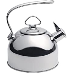 Chantal 1.8-qt. Classic Teakettle, Stainless. by Chantal