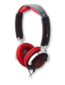 EarPollution Nerve Pipe Headphones - Lion - Black/Red