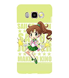 Printvisa Cute Girl Activity Pic Back Case Cover for Samsung Galaxy J5 (2016)::Samsung J510F