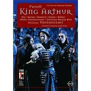 Purcell - King Arthur / Bonney, Schade, Rey, Widmer, Remmert, Maertens, Konig, Henkel, Bantzer, Renner, Rohrer, Harnoncourt, Salzburg Opera